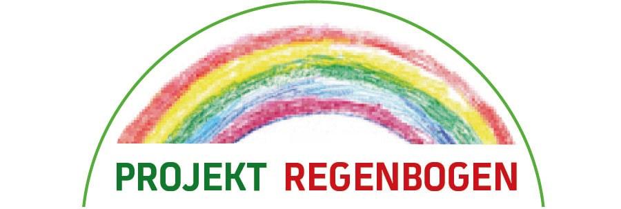 Logo Projekt Regenbogen